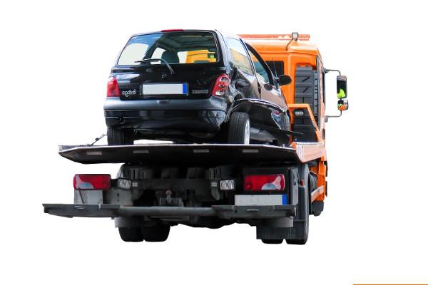 Auto abschleppen lassen in Warendorf bei einem Unfall